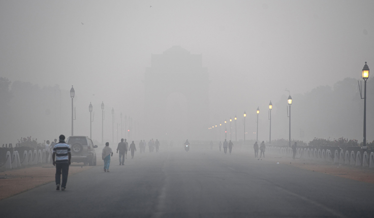 India's 'smog tower' may help combat air pollution