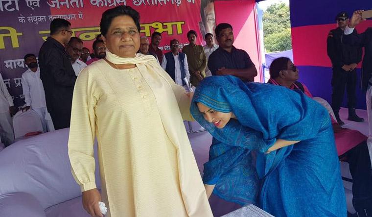 Mayawati Chhattisgarh campaigning