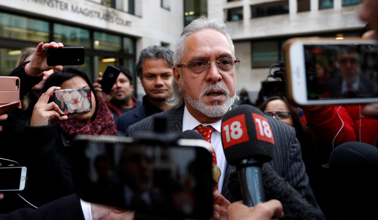 Vijay Mallya leaves after his extradition hearing at Westminster Magistrates Court, in London | Reuters