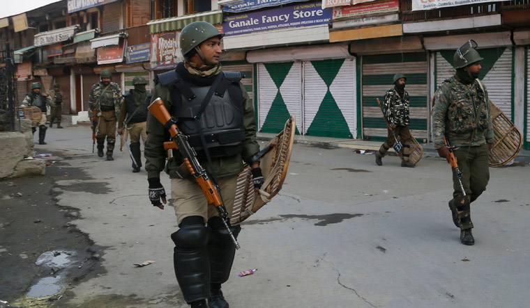 J&K: Restrictions in Srinagar, Pulwama districts following separatists' strike