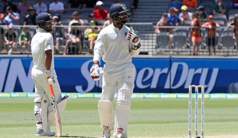 Hanuma Vihari dismissed