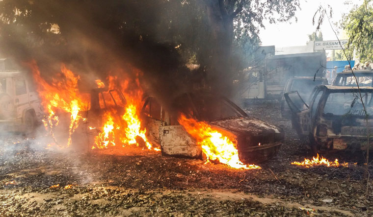 Bulandshahr violence PTI