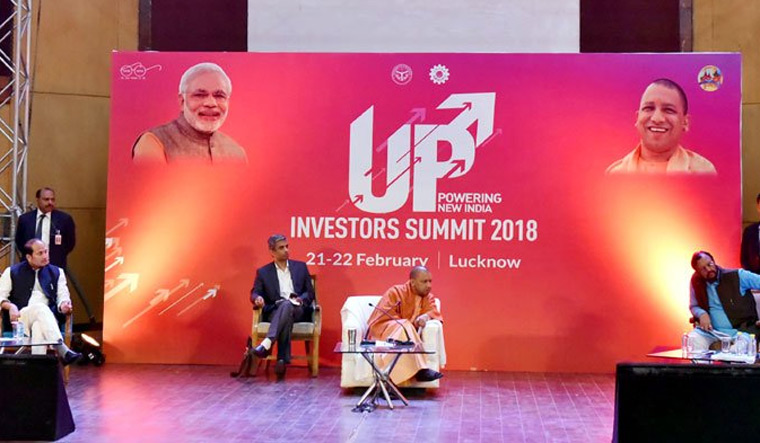 [File] Uttar Pradesh Chief Minister Yogi Adityanath at the preparatory session for an investors summit in Lucknow