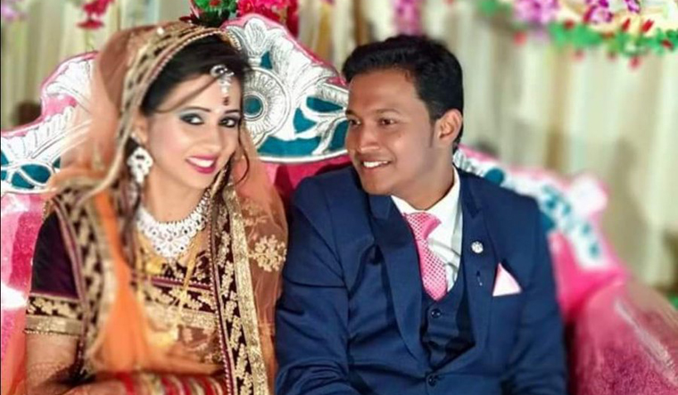 Newly-wed man killed by bomb delivered as gift