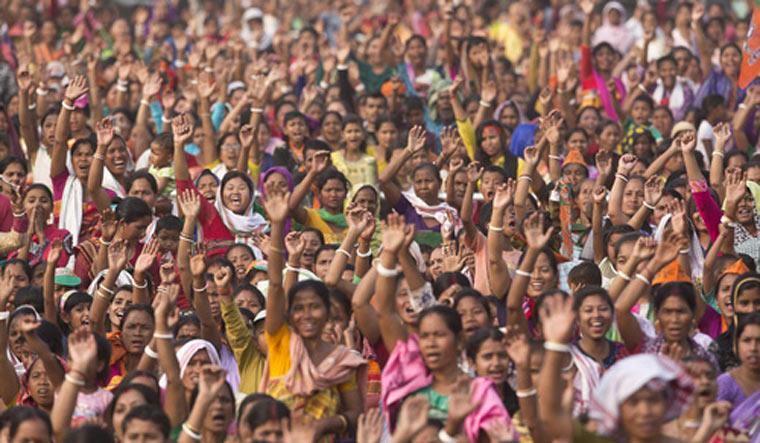 Meghalaya crowd