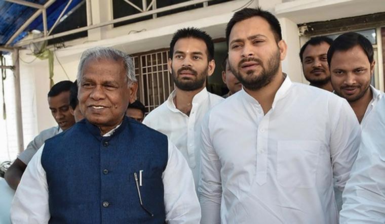 Jitan Ram Manjhi joins RJD-led Grand Alliance