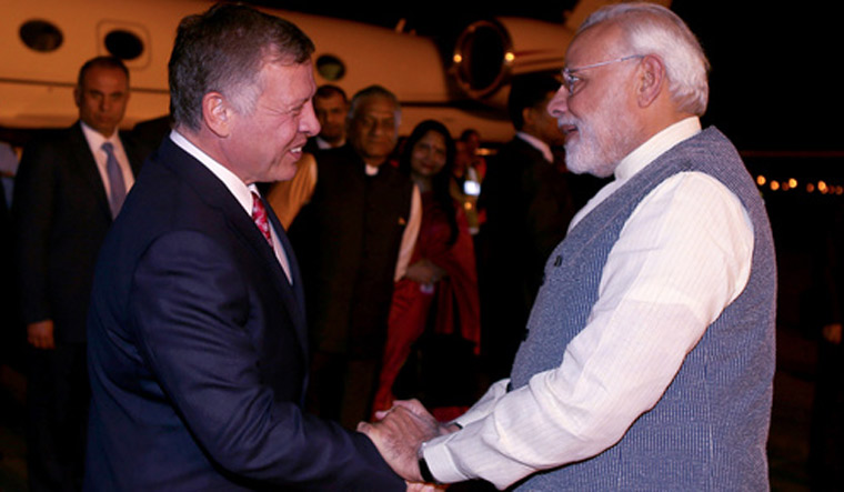 India, Jordan ink 12 deals, focus on def cooperation