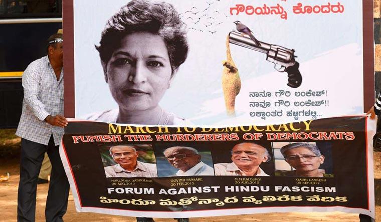 Gauri Lankesh murder: SIT names Right-wing group member as accused No. 1