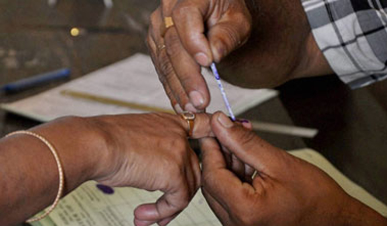Voting underway in Tripura's Charilam constituency