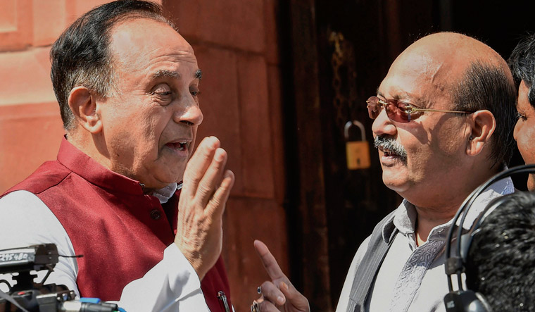 Rahul Gandhi forgiving Rajiv's killer raises suspicion of plotted assassination: Subramanian Swamy