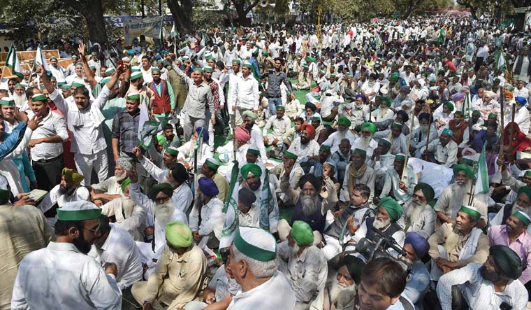 Delhi farmers' protest