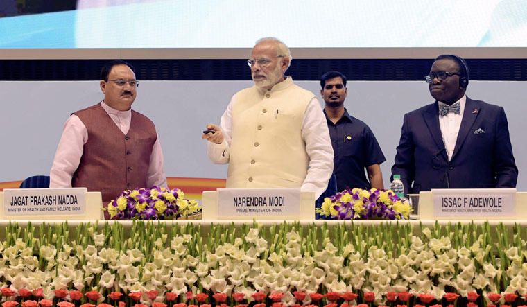 Prime Minister Narendra Modi launches Tuberculosis Free India Campaign in New Delhi | PTI