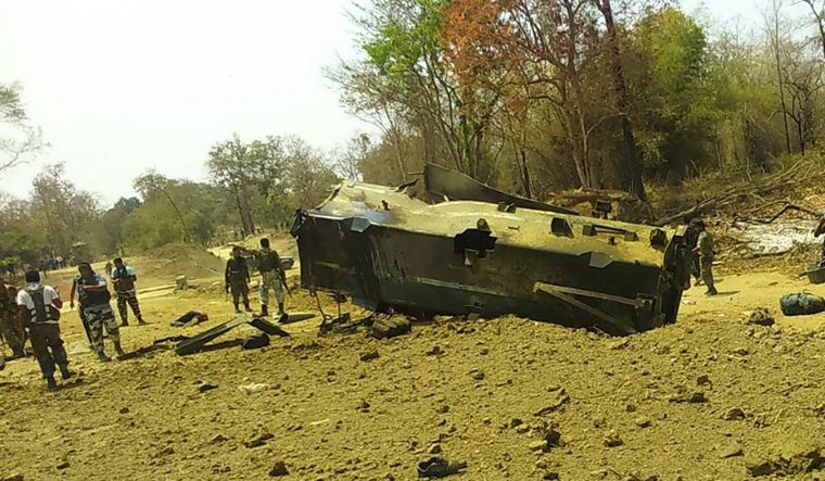 Naxalite attack