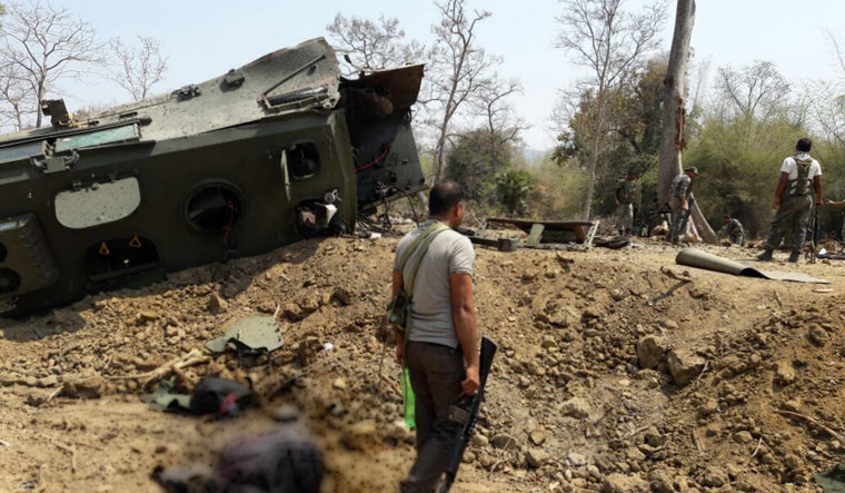 Nine jawans were killed in a Maoist attack in Chhattisgarh's Sukma