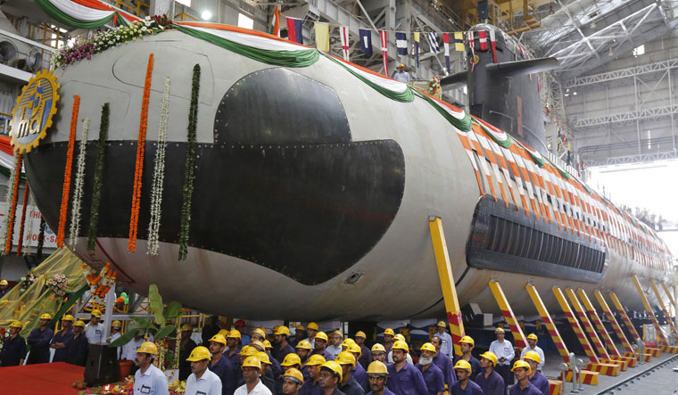 Kalvari class submarine of the Indian Navy | Reuters