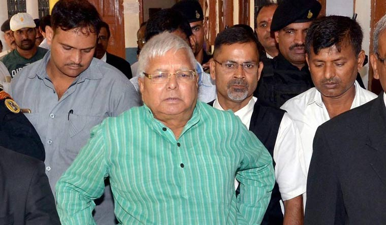 Judgement in the fourth fodder scam for Lalu Prasad tomorrow