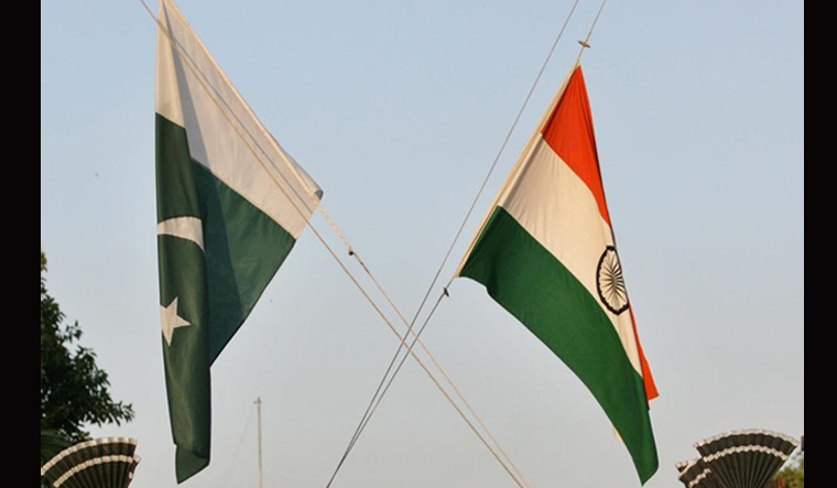 india pak flag rep