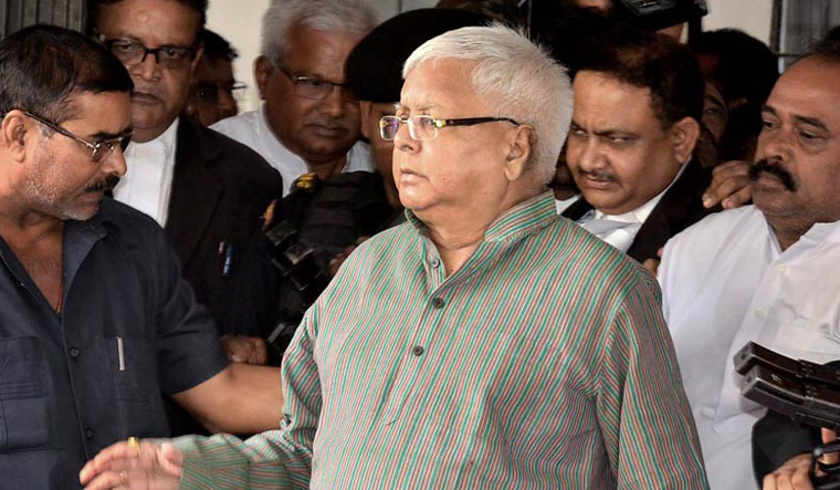 Lalu Prasad Yadav admitted to hospital in Ranchi after chest pain complaint