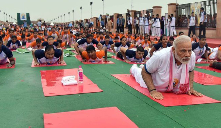 Dear Mr Modi, we have already lost Yoga and it is pointless to pretend otherwise