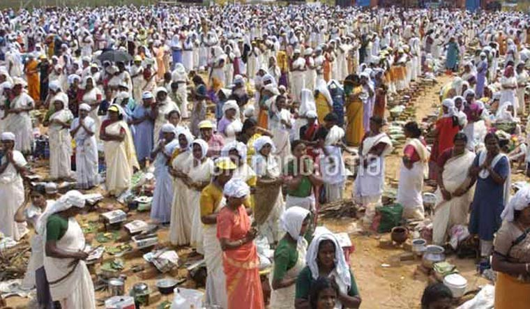 Lakhs take part in Attukal Pongala amid row over Kuthiyottam