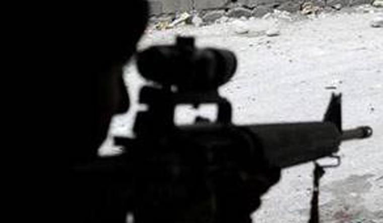Militancy terror representational image
