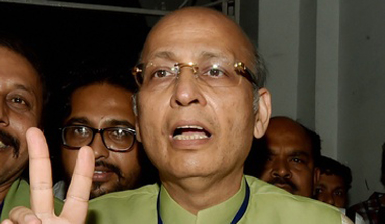 Singhvi, 4 TMC candidates win RS poll from West Bengal
