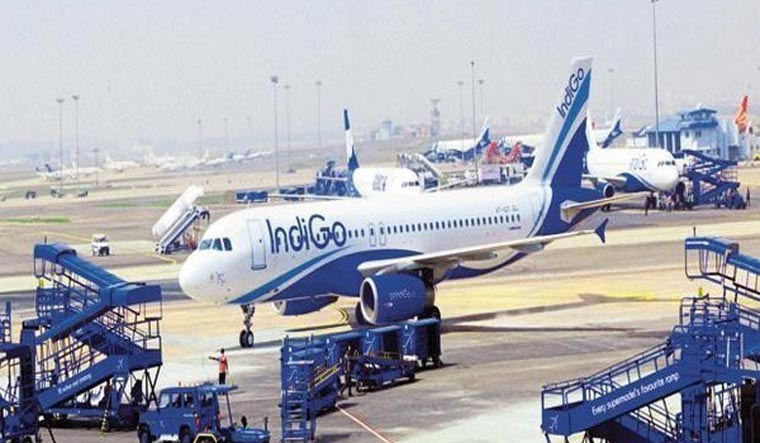 Indigo flight suffers tyre brust while landing at Hyderabad airport