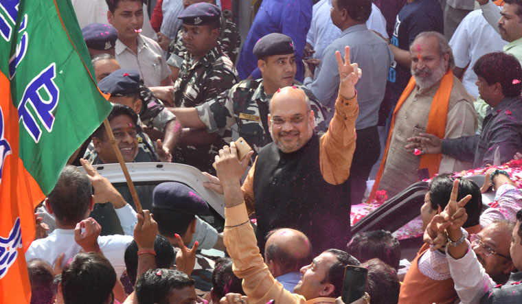Verdict in Meghalaya is for change: Amit Shah