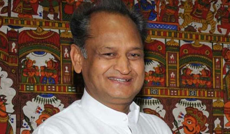 Ashok Gehlot replaces Janardan Dwivedi as AICC general secretary