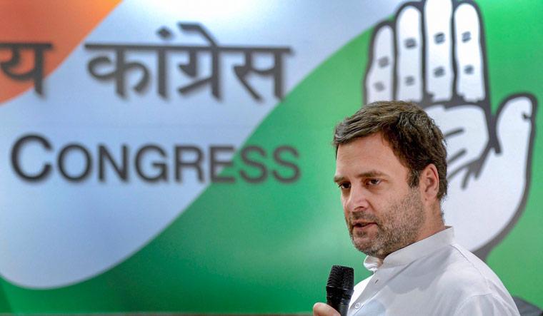rahul gandhi says bjp is against ideology of dalits tribals rahul