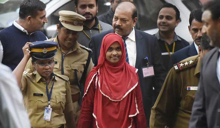 Hadiya's father files affidavit in SC