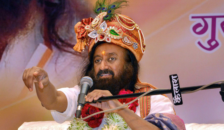 C ase booked against Sri Sri Ravi Shankar in Hyderabad