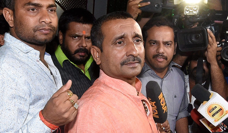 Unnao rape case: BJP MLA Kuldeep Singh Sengar detained by CBI