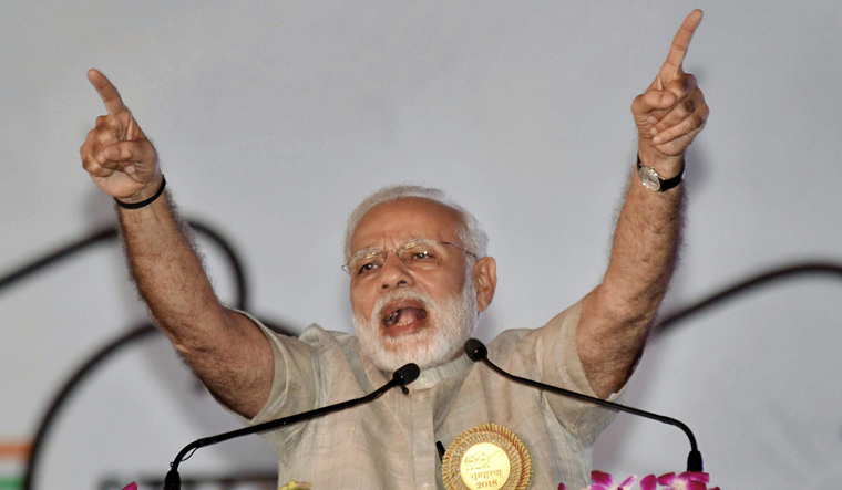 India has never encroached upon anyone's territory or ideology, says PM Modi