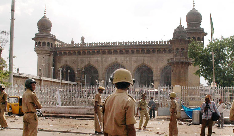 Mecca Masjid blasts: All accused, including Aseemanand, acquitted