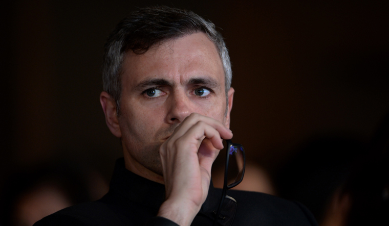 Omar 'alarmed' over spurt in Kashmiri youths taking to guns