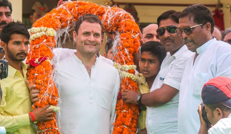 Rahul Gandhi to launch Congress's nationwide 'Save the Constitution' campaign