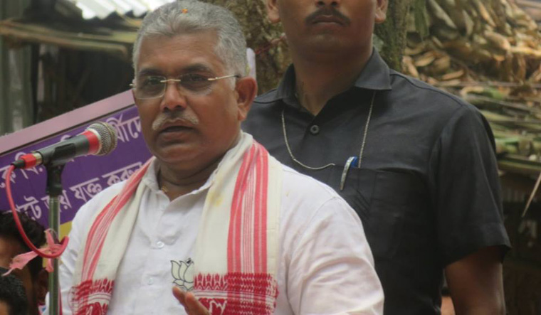 BJP leader threatens to chop off heads, legs of TMC workers