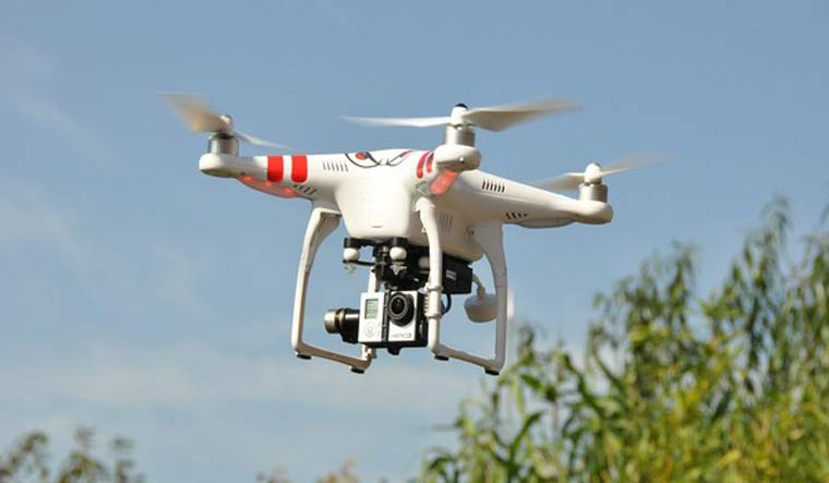 Police have banned the flying of drones and other remote-controlled flying devices | ANI