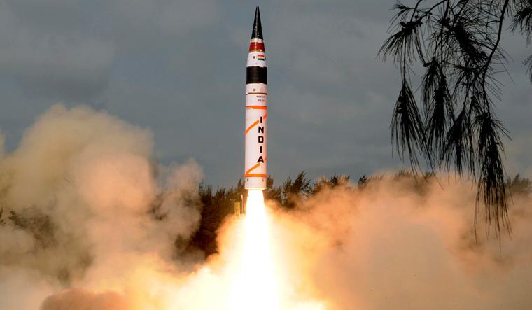 Agni-5 missile