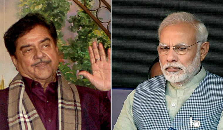 In a series of tweets, Shatrughan Sinha offered some advice to the PM