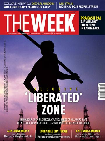 THE WEEK, in its latest issue, has published a detailed cover story on the liberated zones in West Bengal