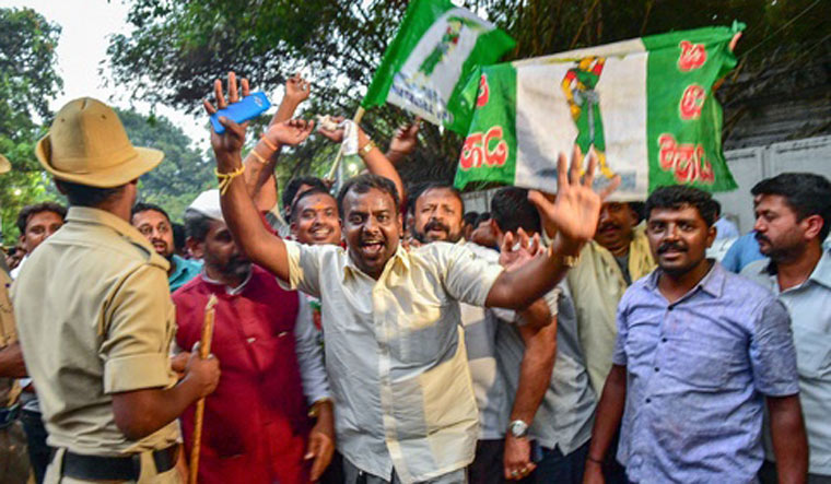 K'taka polls: BJP confident of forming government in Karnataka