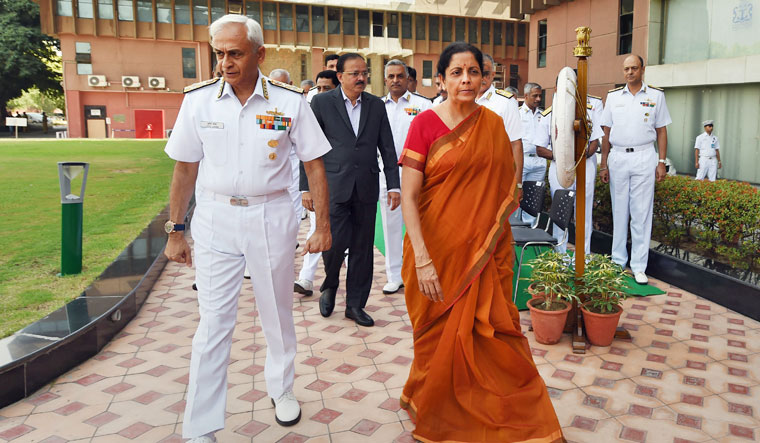 Working 'seriously' to have women in combat roles: Nirmala Sitharaman