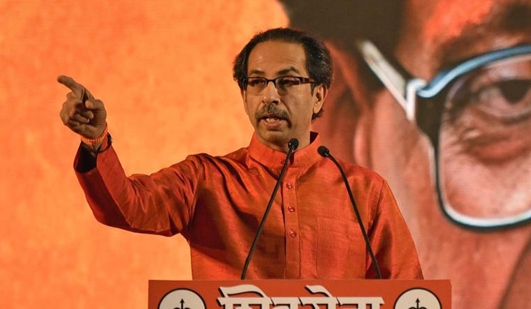 [FILE] Shiv Sena chief Uddhav Thackeray