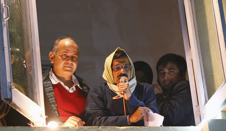 [FILE] Delhi Chief Minister Arvind Kejriwal and his deputy Manish Sisodia | PTI