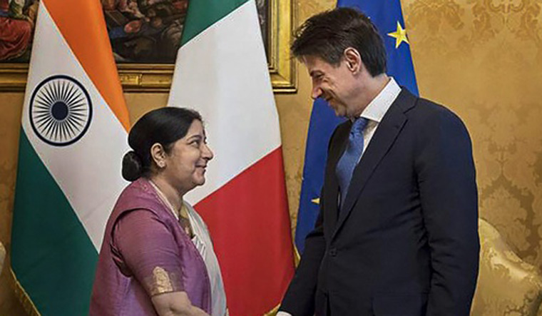 Engagement with Europe gets renewed push with Sushma's four-nation tour