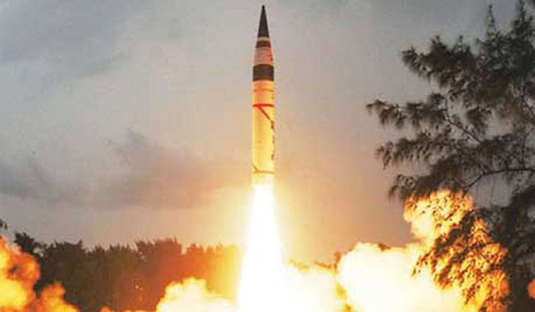 [File] Defence official said this was the first time that the sophisticated missile was testfired at night | PTI