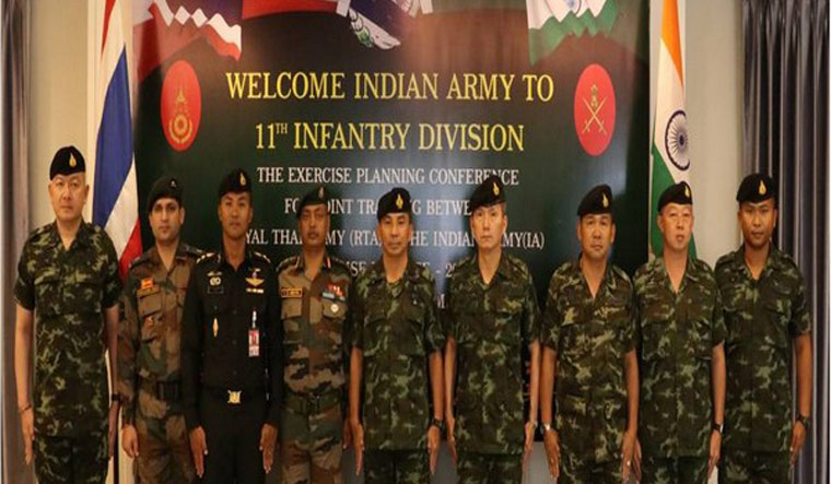 India, Thailand to kick off military exercise in August