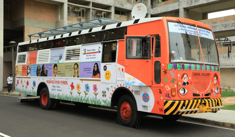 Guj govt launches 'School on Wheels' project for kids of salt pan workers